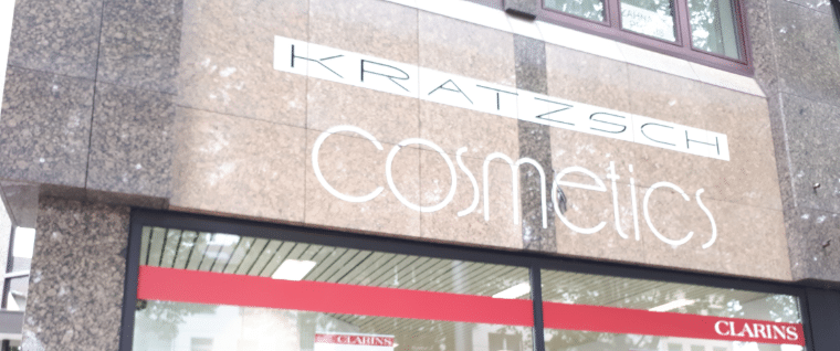 Kratsch Cosmetics Laden krefeld fuer krefeld supportyourlocals